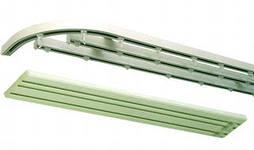 карниз алюминиевый трехрядный потолочный #1. карниз алюминиевый трехрядный потолочный #3.